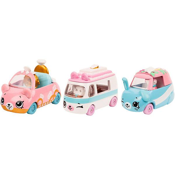Купить Набор машинок Moose Cutie Cars с фигурками Shopkins, Свадьба на колёсах, Китай, разноцветный, Женский