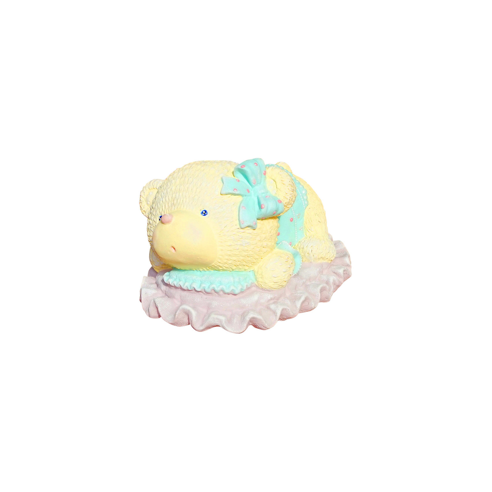 Виниловая копилка-раскраска Color KIT Мишка на подушке 2