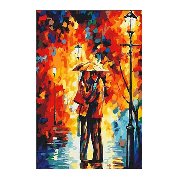 Color KIT Алмазная мозаика Color KIT Осенний поцелуй, 40х50 см color kit алмазная картина раскраска color kit цветочный поцелуй 40х50 см