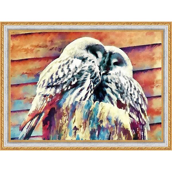 Купить Набор для вышивания бисером Color KIT Совята , 30х40 см, Россия, разноцветный, Унисекс