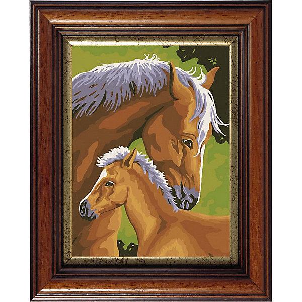 Купить Картина по номерам Color KIT С мамой , 30х40 см, Россия, разноцветный, Унисекс