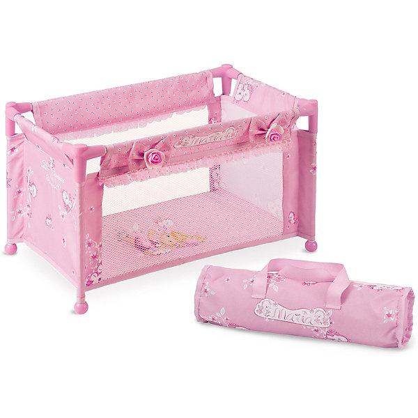 DeCuevas Манеж-кроватка для куклы Мария, 50 см