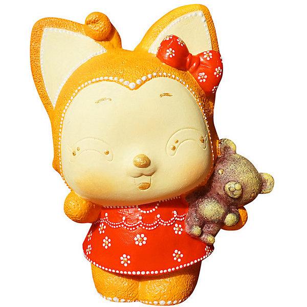 Купить Виниловая копилка-раскраска Color KIT Лисичка , Россия, разноцветный, Унисекс