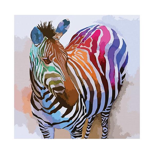 Color KIT Картина по номерам Радужное настроение, 40х40 см