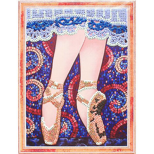 Купить Картина из пайеток Color KIT На пуантах , 30х40 см, Россия, разноцветный, Унисекс
