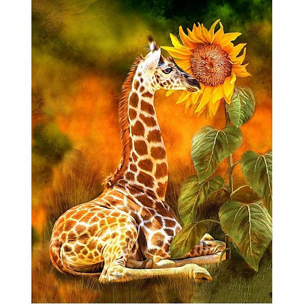 Color KIT Алмазная картина-раскраска Пошепчи, 40х50 см