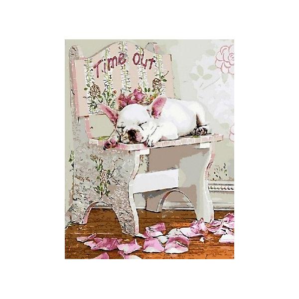 Купить Картина по номерам Color KIT Тайм-Аут , 40х50 см, Россия, разноцветный, Унисекс