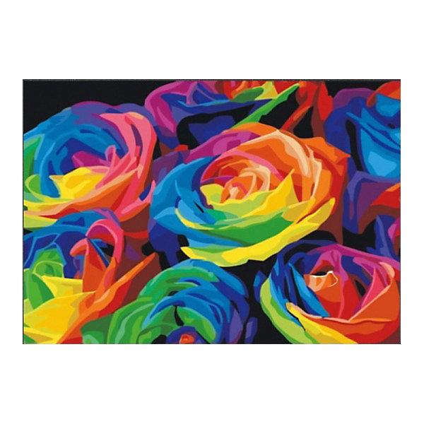 Color KIT Алмазная мозаика Розы, 40х50 см