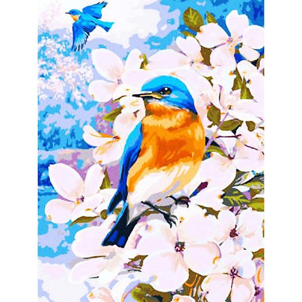 Купить Раскраска по номерам на картоне Color KIT Полёт весны , 30х40 см, Россия, разноцветный, Унисекс