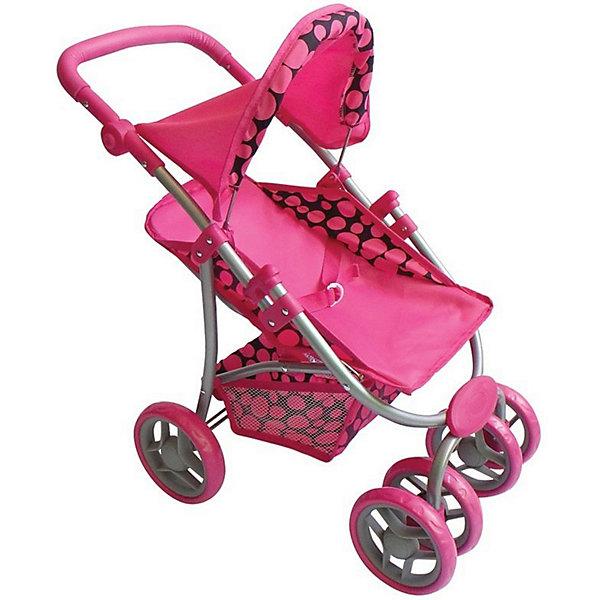 """Коляска для кукол Buggy Boom """"Skyna"""", розовая, Розовый"""
