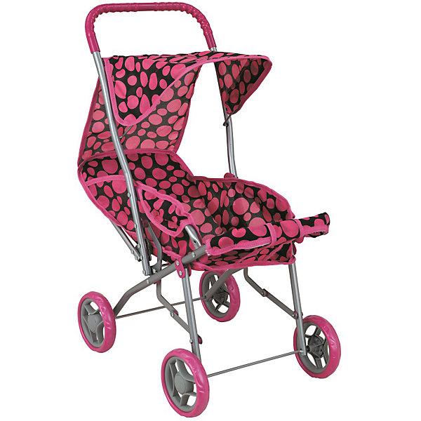 Buggy Boom Коляска для кукол Buggy Boom Mixy, розовая buggy boom коляска для кукол buggy boom бежево розовая
