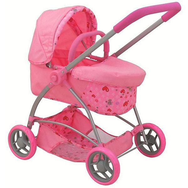 Buggy Boom Коляска для кукол Amidea, светло-розовая