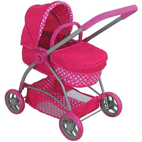 Buggy Boom Коляска для кукол Amidea, розовая