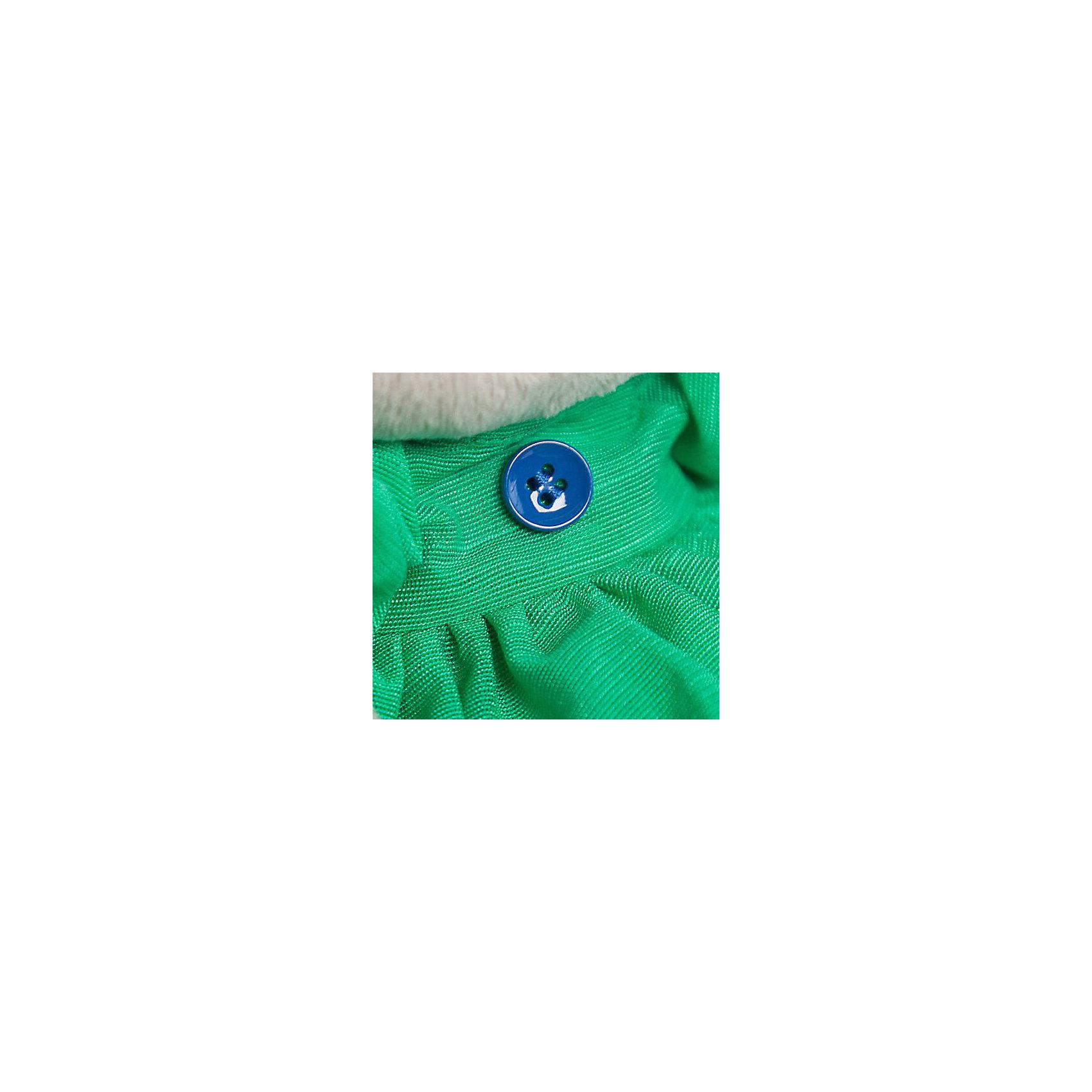 Мягкая игрушка Budi Basa Зайка Ми в зеленом платье с бабочкой, 18 см по цене 747