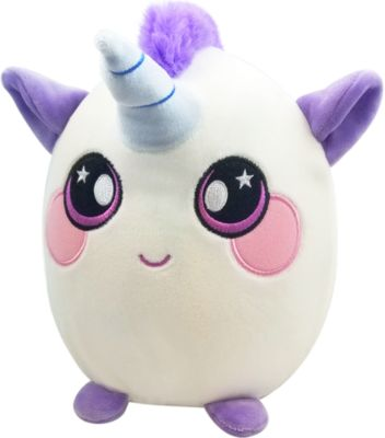 Мягкая игрушка Squeezamals Единорог, 20 см, артикул:10014998 - Мягкие игрушки