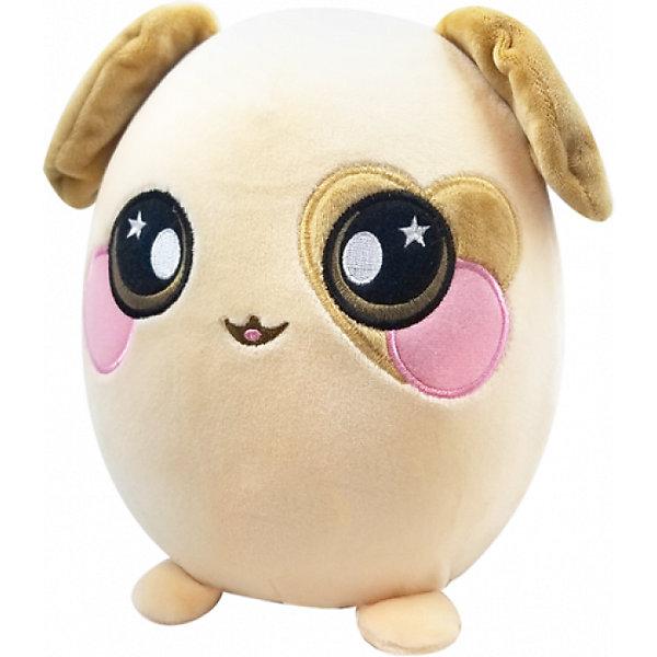 Мягкая игрушка ABtoys Squeezamals Собака, 20 см