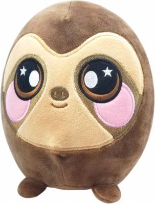 Мягкая игрушка Squeezamals Ленивец, 20 см, артикул:10015000 - Мягкие игрушки