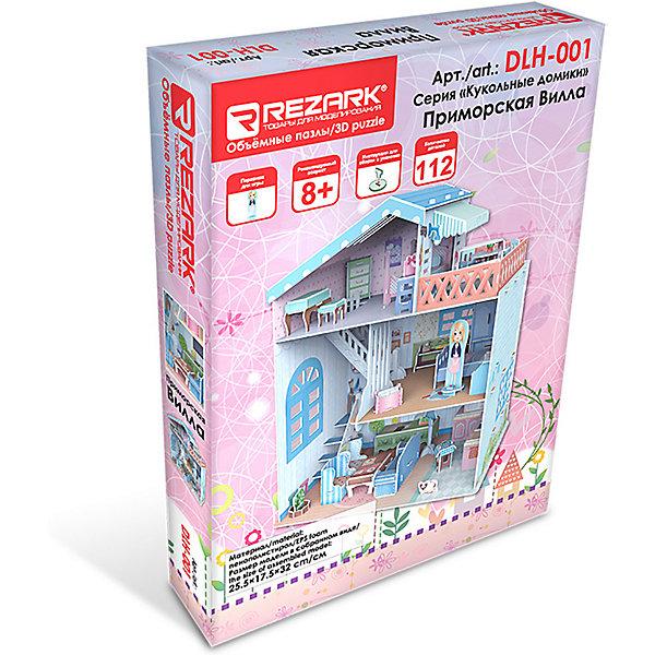 Rezark 3D пазл Rezark Кукольные домики Приморская вилла, 112 элементов essence es6386fe 130