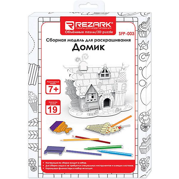 Купить 3D пазл для раскрашивания Rezark Домик , Китай, Унисекс