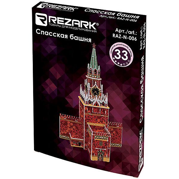 """3D пазл Rezark """"Спасская башня"""", 33 элемента"""