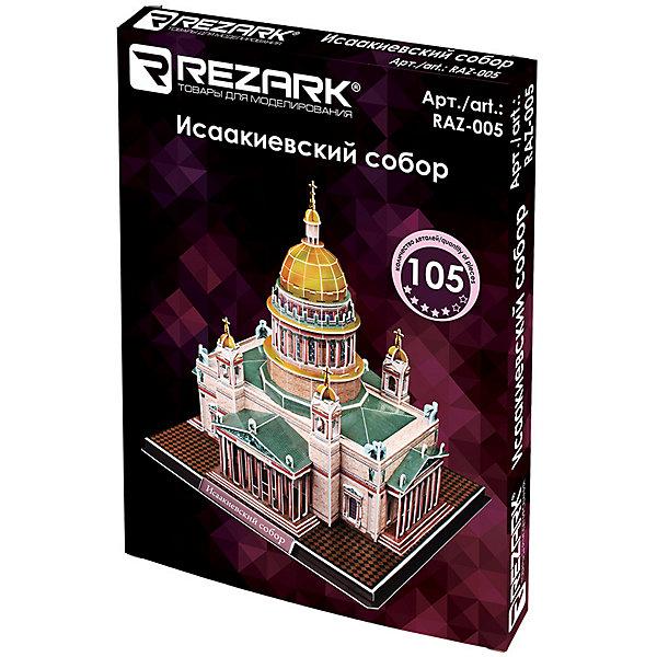 Rezark 3D пазл Rezark Исаакиевский собор, 105 элементов картина старый петербург исаакиевский собор холст масло 50х60 см