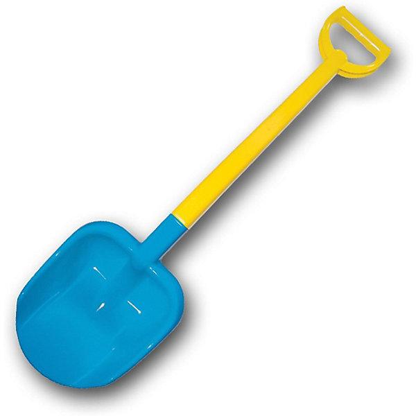 Купить Лопата двухцветная Zebratoys, 66 см, синяя, Россия, синий, Унисекс