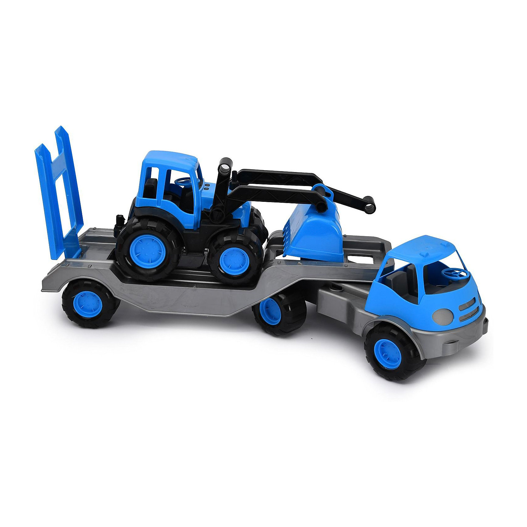 Автомобиль с платформой Zebratoys