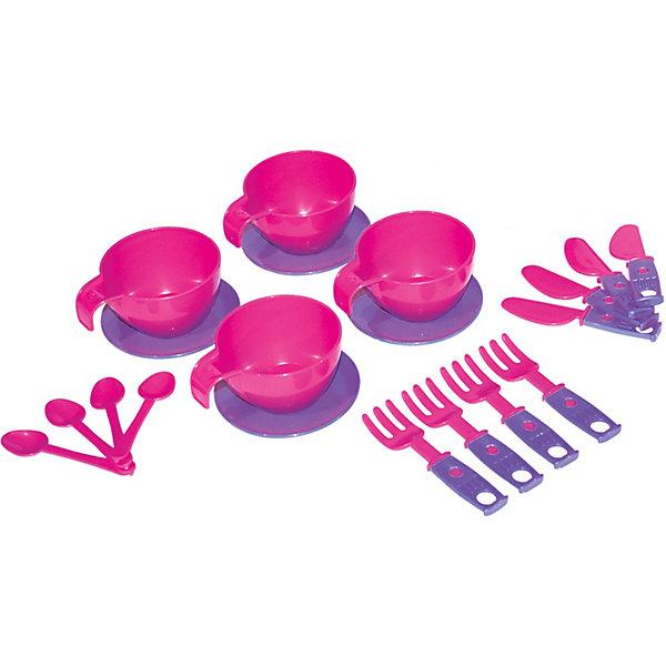 Zebratoys Набор игрушечной посудки Zebratoys Для завтрака, 20 предметов набор металлической посудки melala чудесное чаепитие melala
