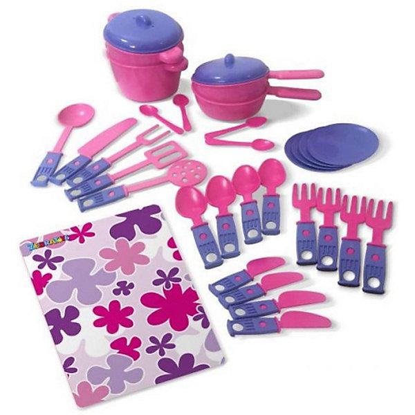 Набор  игрушечной посудки Zebratoys