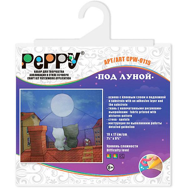 Peppy Аппликация в стиле пэчворк Под луной