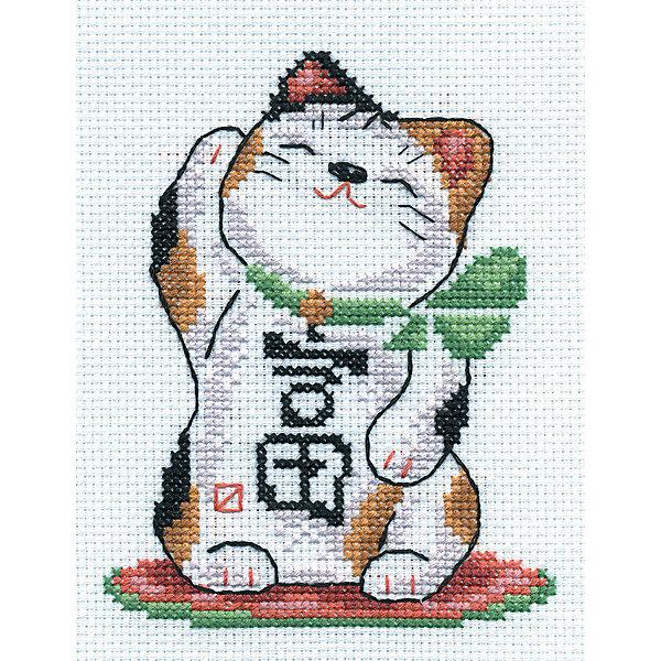 Panna Набор для вышивания Panna Счётный крест Богатство в доме, 12х14 см набор для вышивания крестом rto котенок с подарком 10 х 10 см