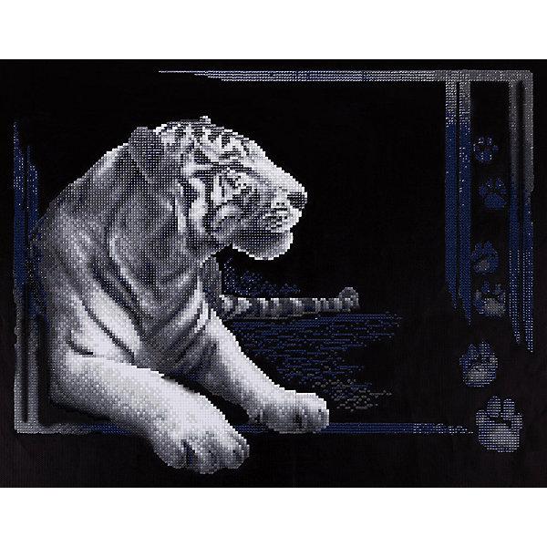 Фрея Алмазная мозаика Тигр, 38х48 см