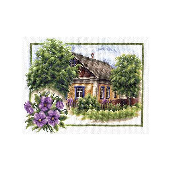 Купить Набор для вышивания Panna Счётный крест Лето в деревне, 26х20 см, Россия, Женский