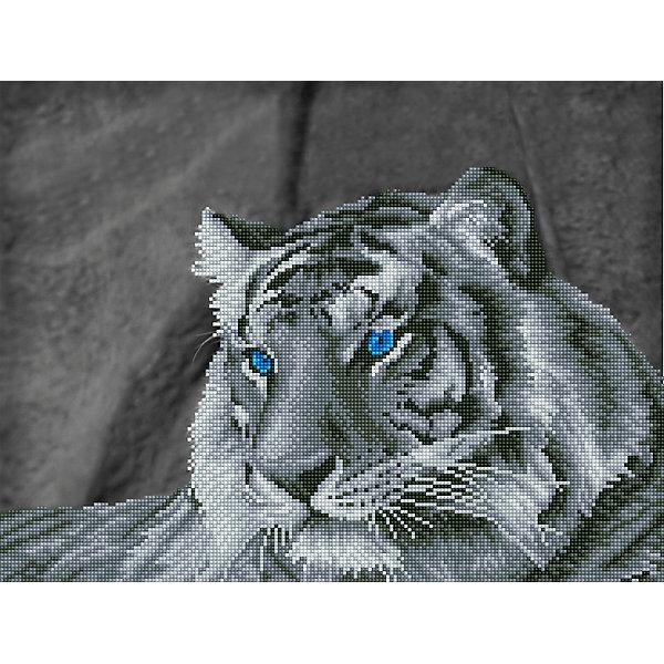 Фрея Алмазная мозаика Фрея Загадочный тигр, 52х39,5 см стилус