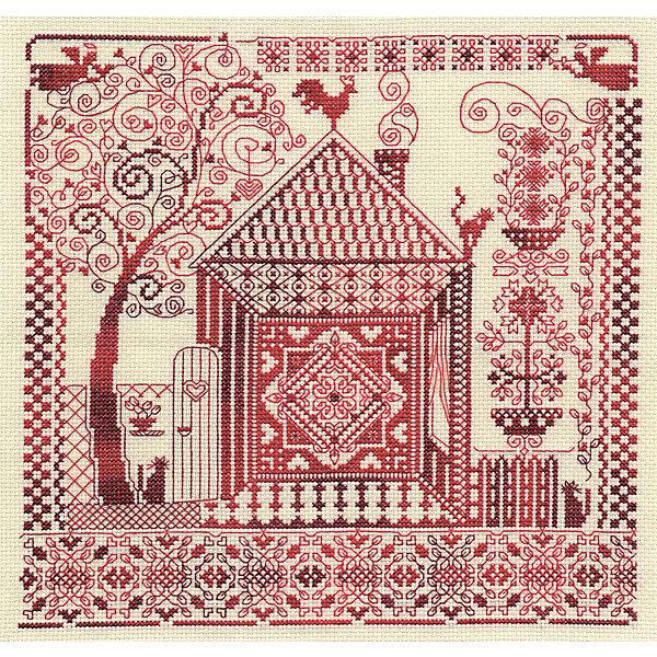 Panna Набор для вышивания Счётный крест Оберег домашнего очага, 30х30 см