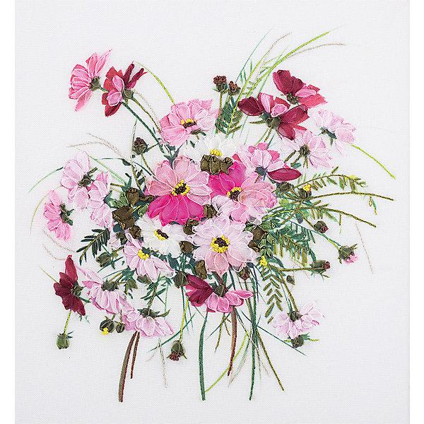 Panna Набор для вышивания Panna Живая картина Дыхание нежности, 19х19 см канва с рисунком для вышивания бисером hobby