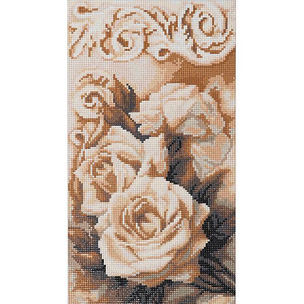 Фрея Алмазная мозаика Фрея Чайные розы, 36,8х20,5 см фрея картина по номерам на дереве фрея итальянская набережная 50х40 см