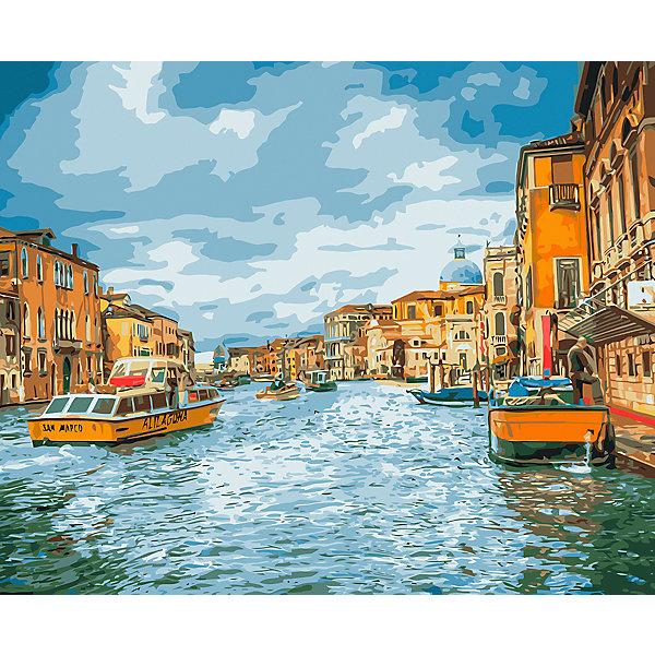 Фрея Картина по номерам на холсте Фрея Прогулка по Венеции, 50х40 см картина по номерам 40 x 50 см ktmk 393605