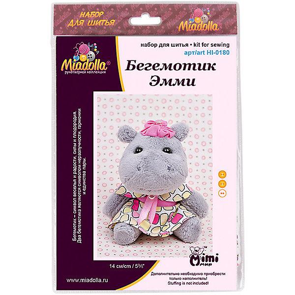 Miadolla Набор для шитья игрушек MiMi Мир Бегемотик Эмми