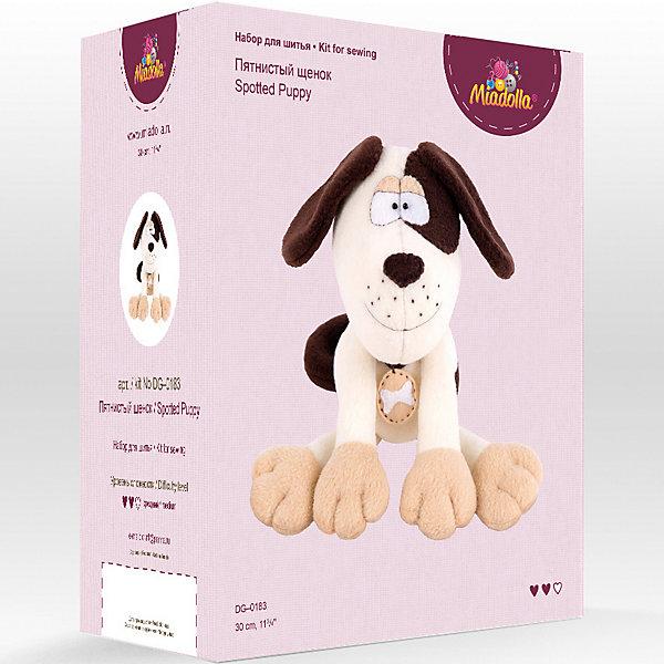Miadolla Набор для шитья игрушек Miadolla Зверьки и птички Пятнистый щенок [супермаркет] кинг вей jingdong творческий швейная коробка набор для шитья набор для шитья портативный пакет