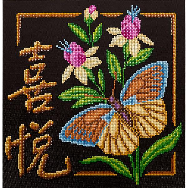 Фрея Алмазная мозаика Иероглиф Радость, 30,5х30,5 см