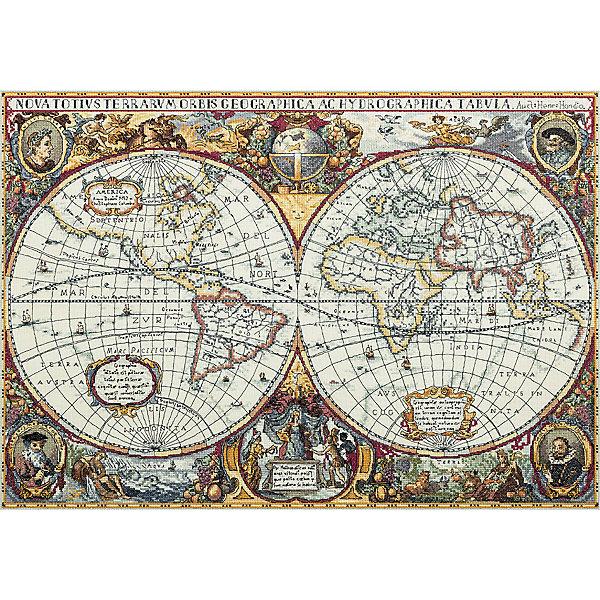 Panna Набор для вышивания Panna Золотая серия Географическая карта мира, 63,5х44,5 см panna набор для вышивания panna бэкстич венок изобилия 32х32 см