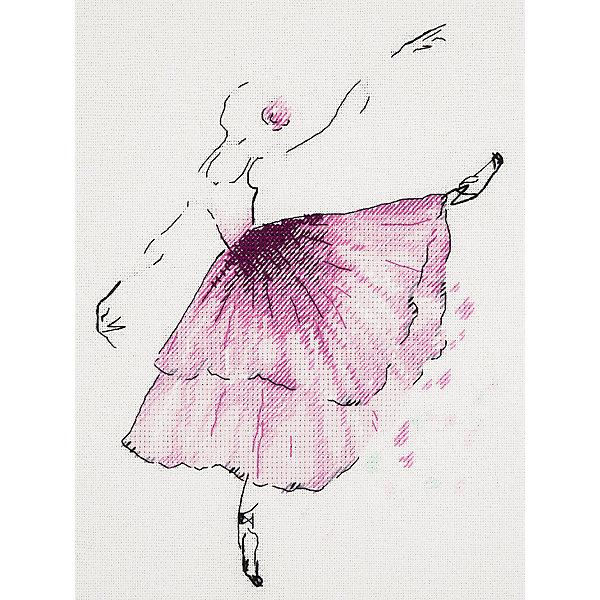 Panna Набор для вышивания Бэкстич Балерина. Анемон, 20х23 см