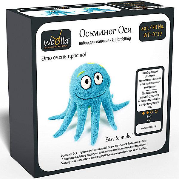 Woolla Набор для валяния Woolla Игрушки Осьминог Ося фигурка safari ltd гигантский осьминог xl