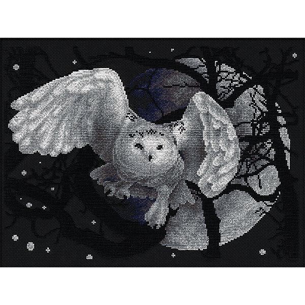 Набор для вышивания Panna Счётный крест Белая сова, 36х27 смНаборы для вышивания<br>Характеристики:<br><br>• возраст: от 14 лет<br>• материал: текстиль<br>• техника вышивания: счетный крест<br>• в наборе: канва аппретированная Gamma K04, хлопчатобумажные нитки мулине на держателе, специализированная игла с тупым концом для вышивания, подробная инструкция и схема<br>• размер готовой работы: 36х27 см<br>• вес упаковки: 136 г<br>• размер упаковки: 23х1х34,5 см<br>• страна бренда: Россия<br><br>Набор для вышивания Panna Белая сова включает все необходимое для создания красочной картинки. В процессе вышивания рекомендуется сосредоточиться на своем желании, а готовую поделку разместить на видном месте. Нитки не махрятся и не выцветают со временем.