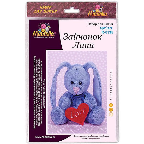 Miadolla Набор для шитья игрушек Miadolla MiMi Мир Зайчонок Лаки [супермаркет] кинг вей jingdong творческий швейная коробка набор для шитья набор для шитья портативный пакет