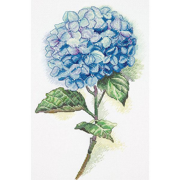 Panna Набор для вышивания Бэкстич Голубая гортензия, 20х30 см