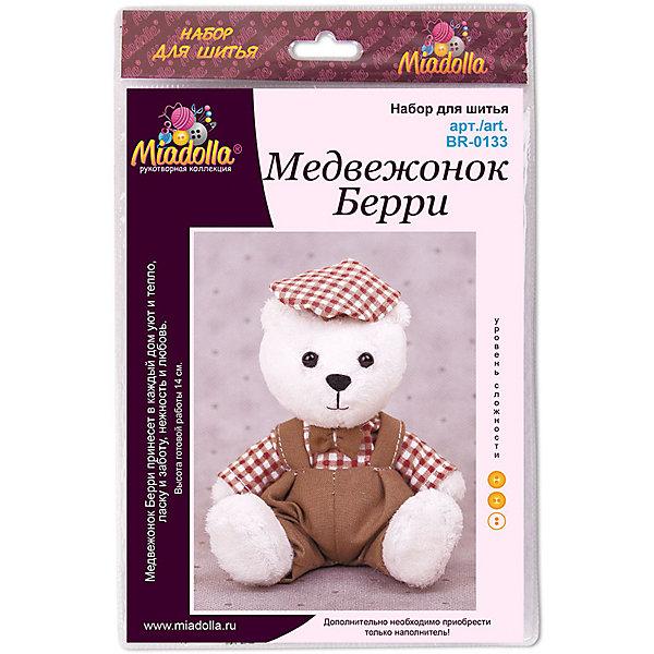 Miadolla Набор для шитья игрушек MiMi Мир Медвежонок Берри