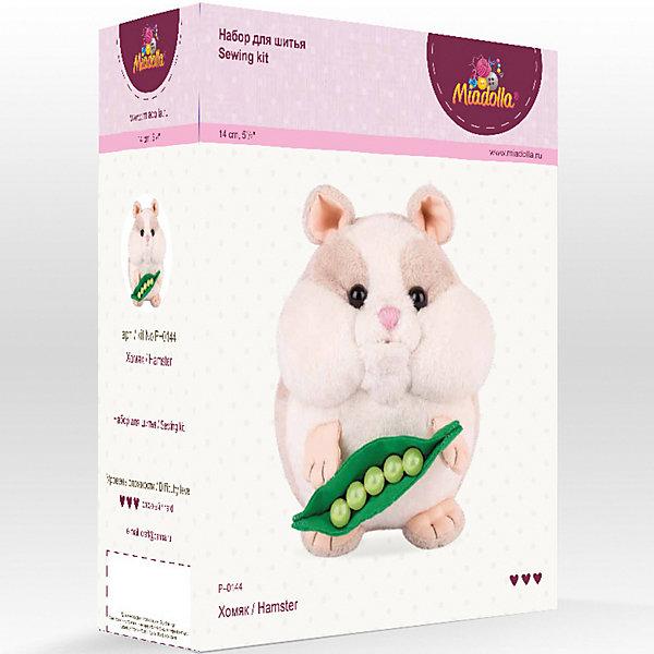 Miadolla Набор для шитья игрушек Miadolla Зверьки и птички Хомяк [супермаркет] кинг вей jingdong творческий швейная коробка набор для шитья набор для шитья портативный пакет