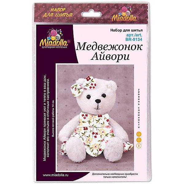 Miadolla Набор для шитья игрушек MiMi Мир Медвежонок Айвори